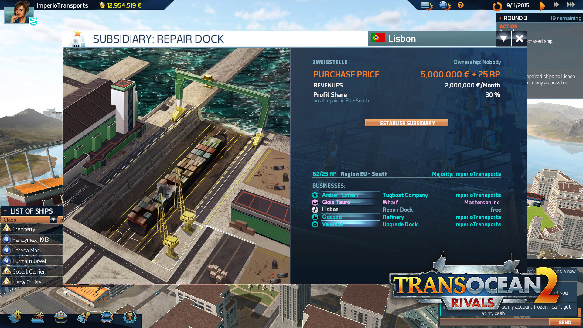TransOcean 2: Rivals - Screenshot 08