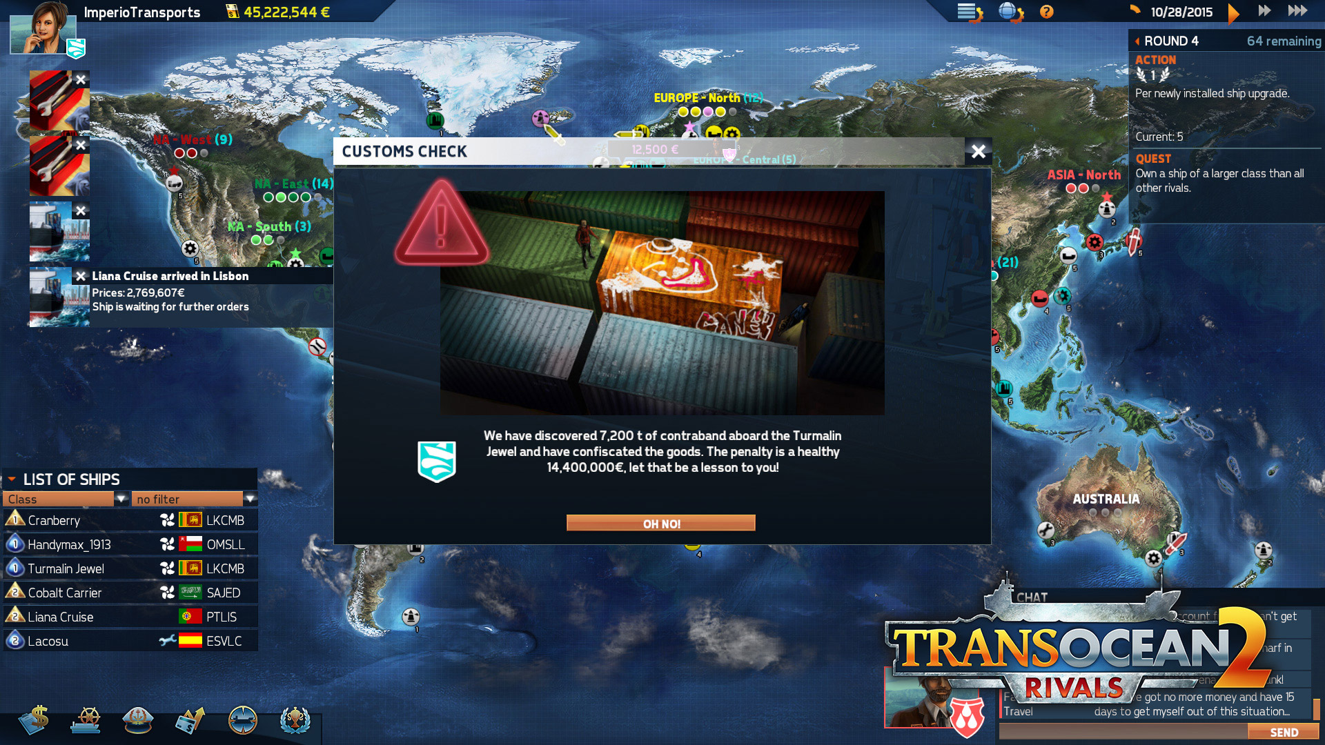 TransOcean 2: Rivals - Screenshot 09